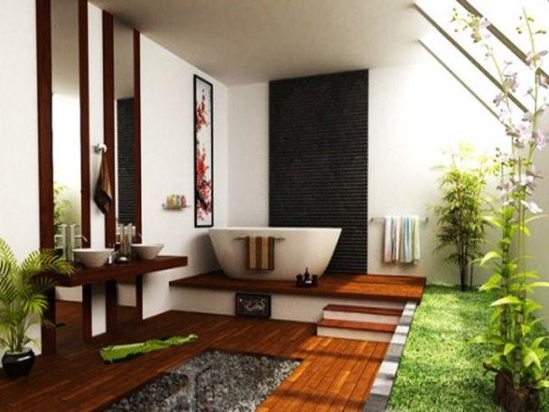 баня с малък размер