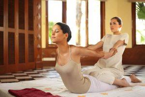 традиционния тайландски масаж