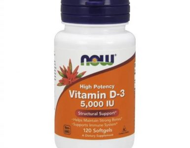 Vitamin D 5000 mg NOW